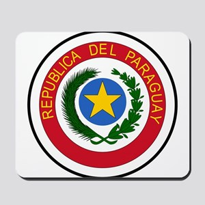 Paraguay Coat of Arms Mousepad